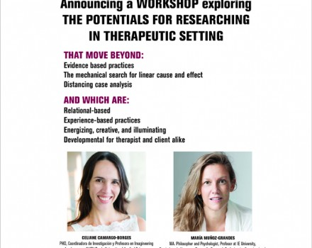 Workshop: New Directions in Therapeutic Research. Madrid, Spain