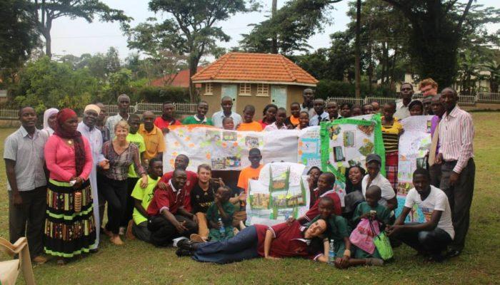 Working in Uganda!