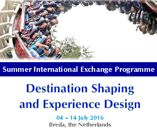 International Summer Course on Destination Shaping and Experience Design