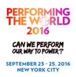 Performing the World Conference New York City