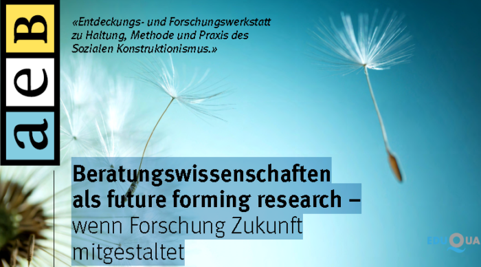 Science as future forming – research shaping the future! Workshop: Zurich October 2016