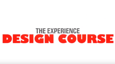 Experience design course – Imagineering Masters